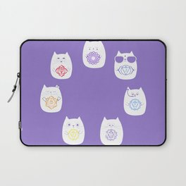 Chakra cats Laptop Sleeve