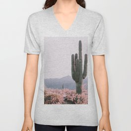 Arizona Cactus 3 Unisex V-Neck