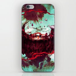 fantasy world iPhone Skin