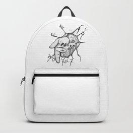 Jesus - Take My Helping Hand Backpack