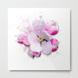 Blossom Flower Metal Print