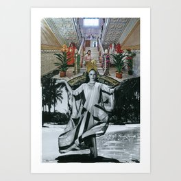 Cigana (Gitana) Art Print