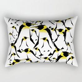 Penguin pick up Rectangular Pillow