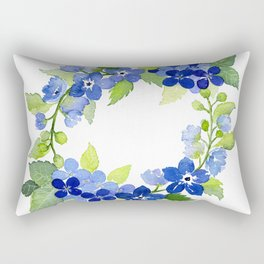 French Blues Rectangular Pillow