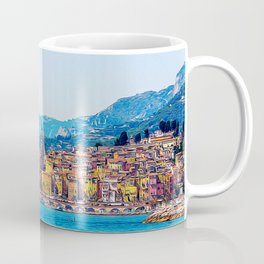 Old village of Menton French Riviera in summer Coffee Mug