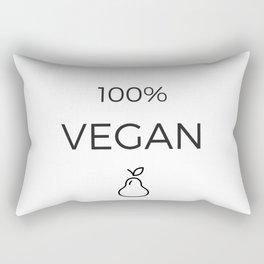 100% VEGAN Rectangular Pillow