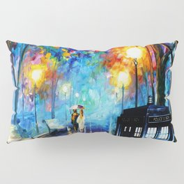 STARRY NIGHT TARDIS Pillow Sham
