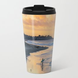 Sunrise Surfer in San Clemente Travel Mug