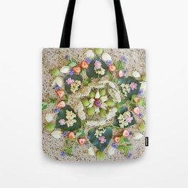 Nature Mandala: June Tote Bag