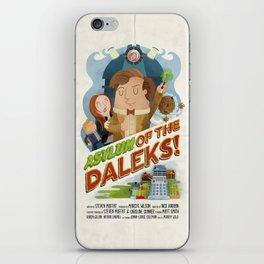 Doctor Who - Asylum of The Daleks!  iPhone Skin