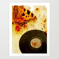 moth Art Prints featuring moth by Markus Breitbach