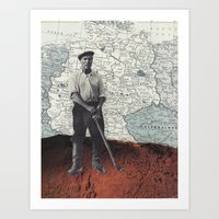 golf Art Prints featuring Golf by Savanna Fuentes