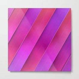 pink line Metal Print
