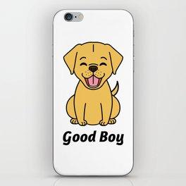 Good Puppy iPhone Skin