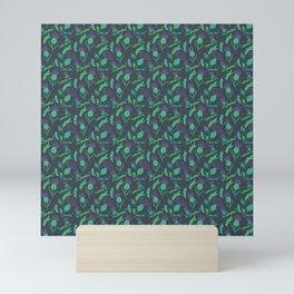 Scottish Thistle Pattern Mini Art Print