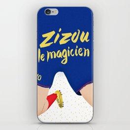 Zizou Le Magicien iPhone Skin