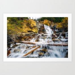 Jasper - Canada (RR371) Art Print