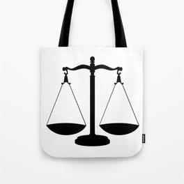 Balance Scales Tote Bag