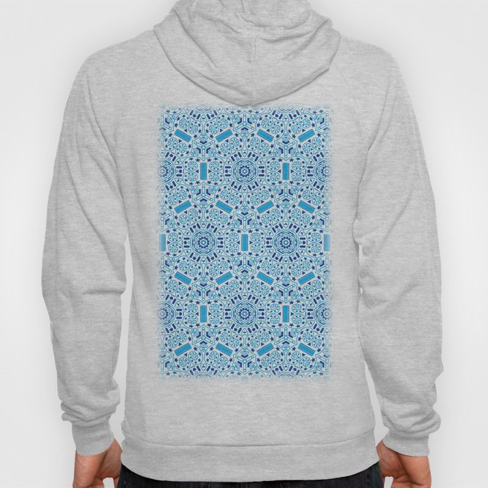 seamless pattern on the theme of space exploration Hoody