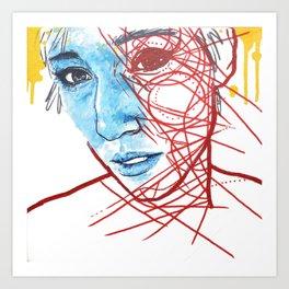 Lifting A Fearful Eye Art Print