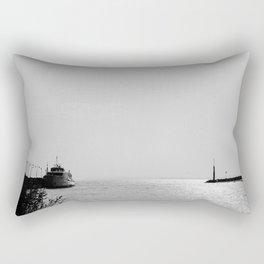 Port in Badacsony Rectangular Pillow