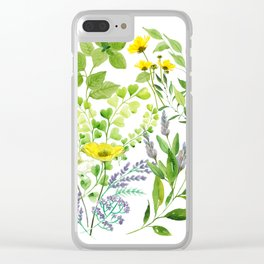 Springtime Clear iPhone Case