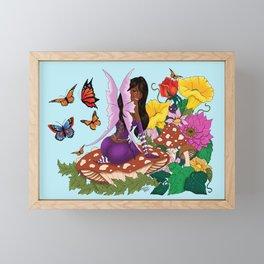 All in Bloom Framed Mini Art Print