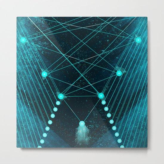 Mystic Space Metal Print