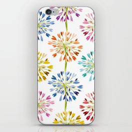 Heart Flower - colorful iPhone Skin