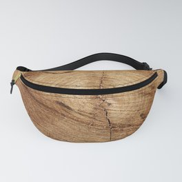 Wood Grain Fanny Pack