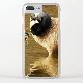 See the world from a different angle Clear iPhone Case