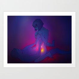 Erotic 1 Art Print