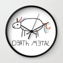 Death Metal Unicorn Wall Clock