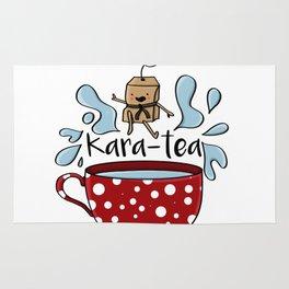 Karate Kara Tea Teabag Present Gift Cup Rug