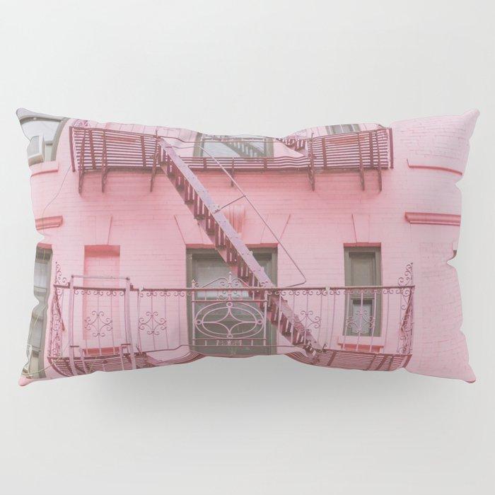 Pink Soho NYC Pillow Sham
