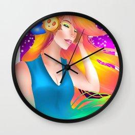 DJ KT Wall Clock