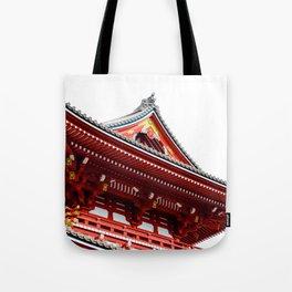 Temple Detail Tote Bag