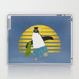 Northern Rockhopper Penguin on Spring Break Laptop & iPad Skin