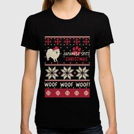 Japanese Spitz christmas gift t-shirt for dog lovers T-shirt