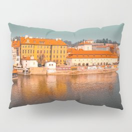 Beautiful Prague cityscape Pillow Sham