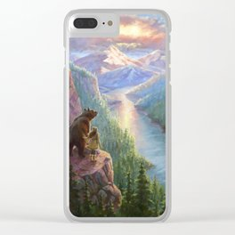 The Last Frontier Clear iPhone Case