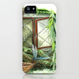 Wind in the Willows Window iPhone Case