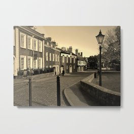 CATHEDRAL CLOSE EXETER DEVON Metal Print