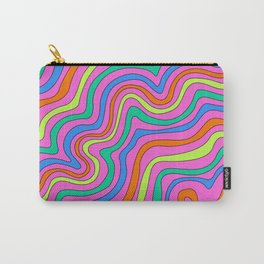 Colorful Squiggles Carry-All Pouch