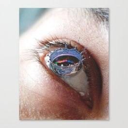 Droplet Like Its Hot Canvas Print