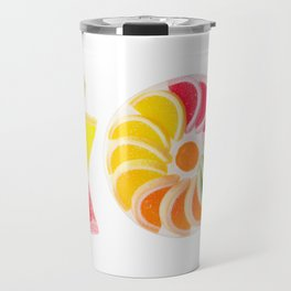 multicolored chewy gumdrops sweets Travel Mug