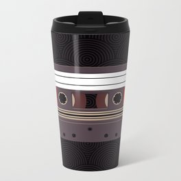Compact Cassette Metal Travel Mug