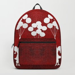 Banksy the balloons Girls silhouette Backpack