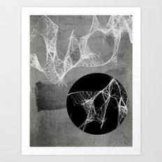 Webbed Art Print