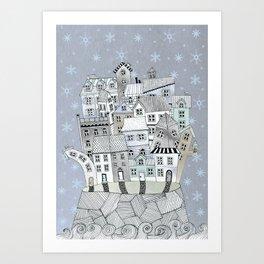 THE ISLAND (CHRISTMAS EDITION) Art Print
